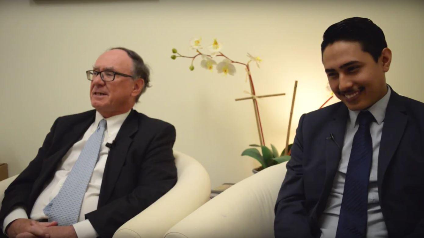 Luis Cardozo and Jim Littlejohn
